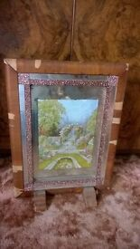 old fire screen