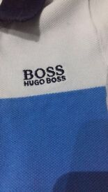 Hugo boss top and shorts- 6 months