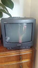 Sony tv retro cube