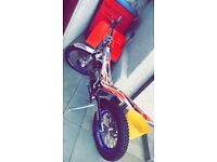 2016 Beta 300 evo trials bike