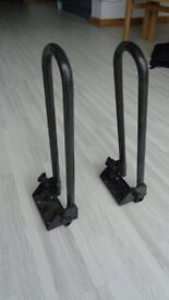 Thule roof rack canoe / boat supports