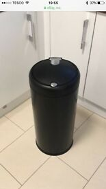 Simplehuman black touch lid bin 30L - tall cylinder