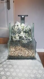 SuperFish Planty 25 - Aquarium with Aquaponics Waterfall. {FILLTER AND HEATER INCLUDED}