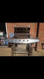 5 burner BBQ