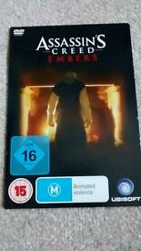 Assassins Creed Embers animated film and concept art book for ac revelations