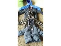 4 boys coats. 2-3 years. Debhanams, Joules,Tesco, Primark. Smoke free pet free home.
