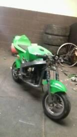 Mini moto 50cc bike