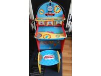 Thomas & friends desk with stool
