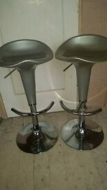 Breakfast bar stools , good condition.