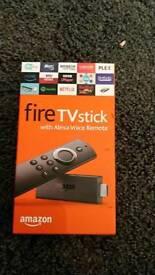 Amazon firestick with alexa voice remote