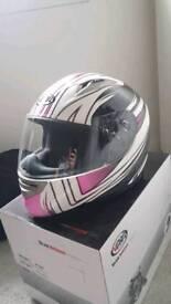 Ladies motorcycle helmet (small)