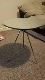 Beautiful glass habitat table