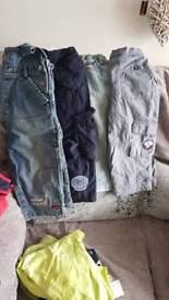 Next trousers/jeans and dungarees