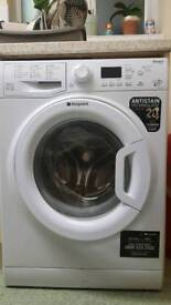 Hotpoint Smart WMFUG842P Washing Machine 8kg Wash 1400RPM Spin Speed -White