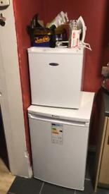 Fridge an small freezer