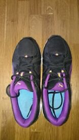 Puma running trainers, size 7.