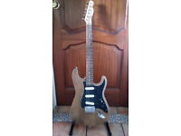 Stratocaster Electric Guitar (Partscaster) with Telecaster neck