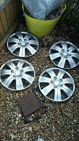 "16"" chrome look wheel trims"