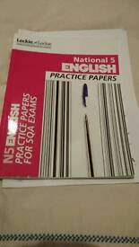 National 5 practice papers English bought 2016