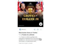 Boxing tickets for sale
