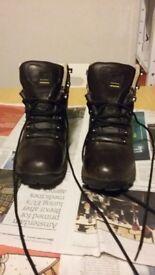 Brown leather Karrimor walking boots. Size 6. Worn twice