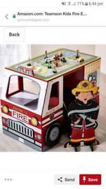 Kids Fireman desk