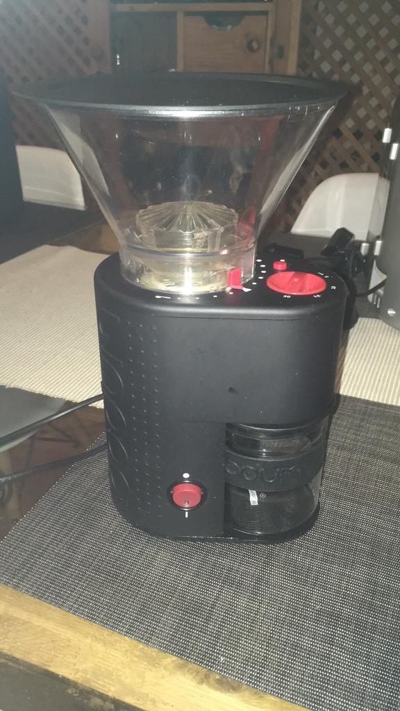 Bodum Black coffee grinder RRP £70