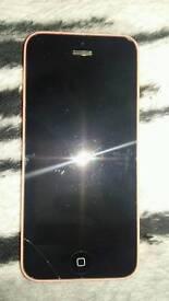 Iphone 5c o2/giffgaff 16gb