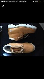 Woman's ankle timberland