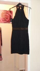 BNWT. Select black tux dress. Size 6.
