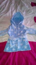 0-3 Baby Boy Dressing Gown