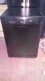 Swan A+Class 12 place Black Dishwasher in good condition £78