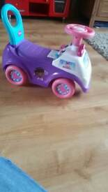 Dc McStuffins Ride on Car