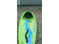 The number one kids kayak. This kayak ideal for learning skills on flat and moving water.