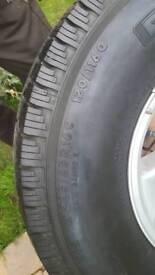Grabber tyres