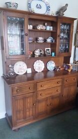 Ercol Canterbury Large Dresser Dining Room solid Oak
