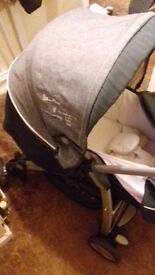 Excellent condition Silvercross travel system