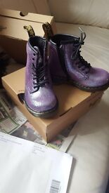 Boots brand new in box size 7 child's doc martins