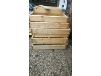 Gardens planters timber wood for sale