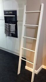 White towel ladder from Next - new and unused