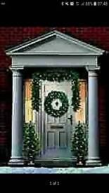 BRAND NEW Christmas front door set