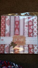 12 x 12 papermania home for christmas paper