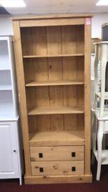 2 drawer large bookcase