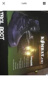 Brand new patrol boots