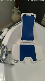 Akkulift belavita bath chair lift , used in great condition