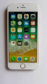 iPhone 6S Rose Gold 16GB UNLOCKED 16 GB Apple Phone (Boxed w/ Charger & Cable)