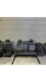 Vauxhall Zafira leather seats