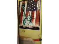 Metal Wall Plate USA