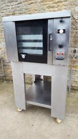 3 PHASE TOM CHANDLEY OVEN STAINLESS
