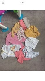 Baby girls clothes bundle age 3-6 months